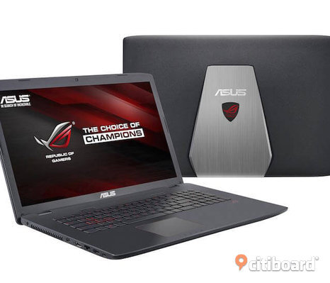 Gaming laptop Asus  GL752VW