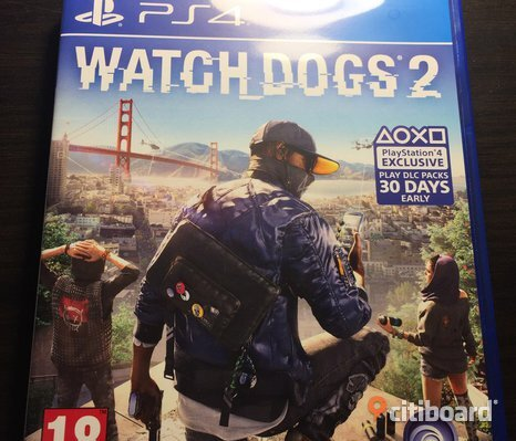 Helt Nytt! Watch Dogs 2 (PS4)