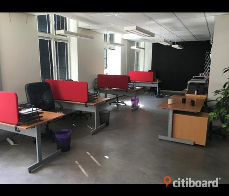 Diverse kontorsmöbler och prylar till billiga priser