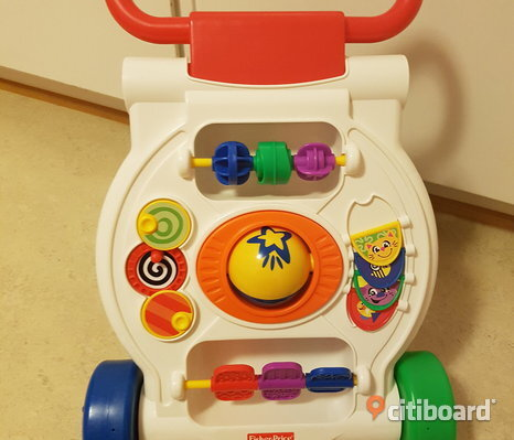 Fisher price gå vagn