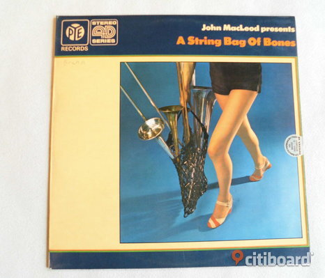John MacLeod. A Sting Of Bones. Lp. UK. 1971. Pye Records.