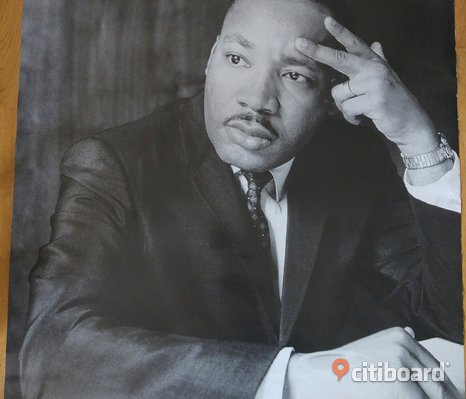 Martin Luther King planch