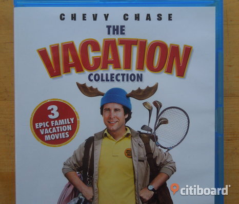 Chevy Chase - The Vacation Collection (3 filmer)