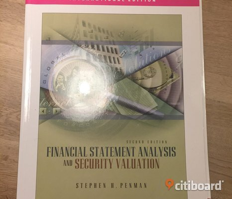 Financial Statement Analysis and security valuation (Penman) 2003