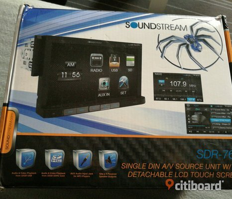 Soundstream radion touch screen