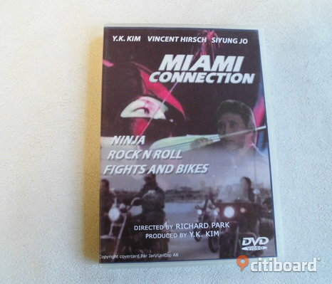 Miami Connection. Dvd. 1987. Ninja/​Karate.