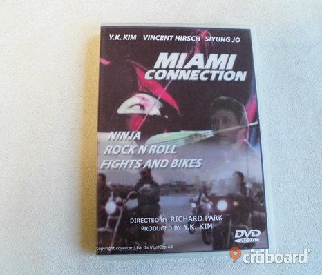 Miami Connection. Dvd. 1987. Ninja/Karate.