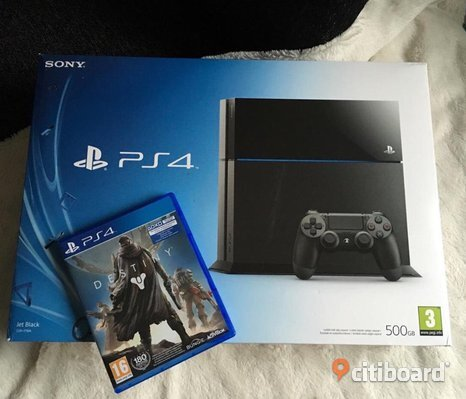 Playstation 4 med spel
