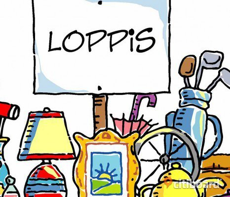 LOPPIS Porsön - A little flea market at home (selling or giving some things)