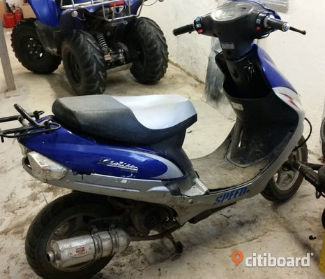 Boatian BTQ50 EU moped