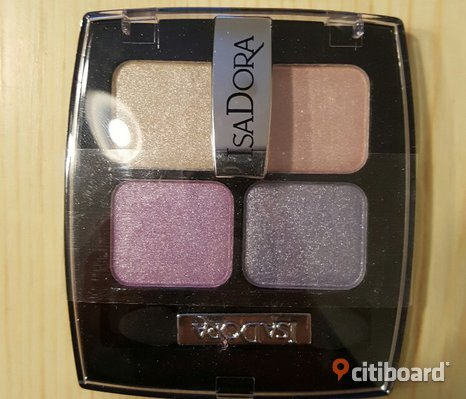 NY! IsaDora Eye Shadow Quartet.Nr 62 Rainbow Pearls!