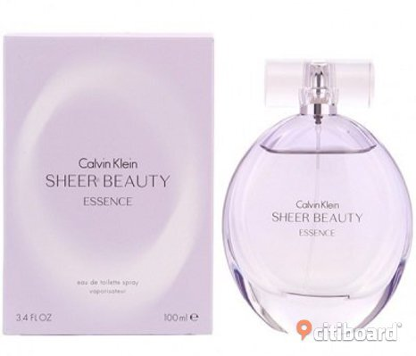 Calvin Klein Sheer Beauty Essence Eau de Toilette Spray 50ml.