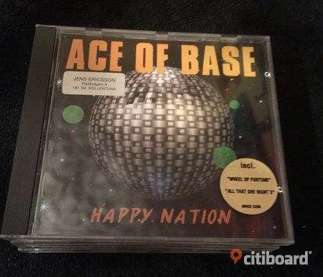Cd Ace of Baseb- Happy Nation