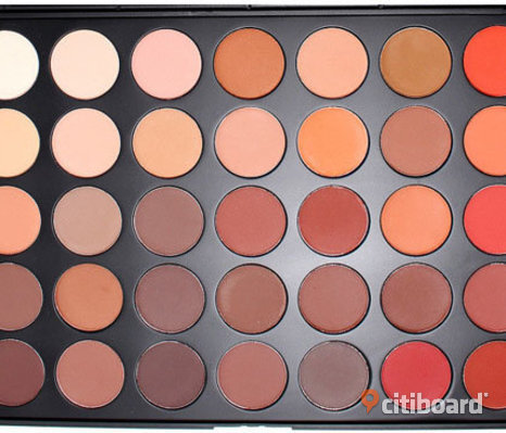 Morphe Brushes 35OM - 35 Color Matte Nature Glow Eyeshadow Palette