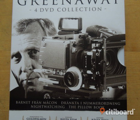 Peter Greenaway box (4 filmer)