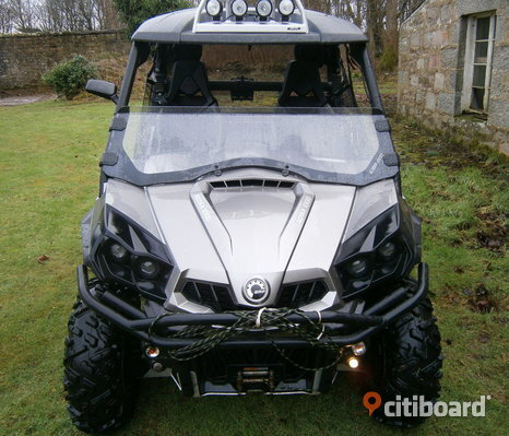 2013 kan am atv quad 4x4 commander