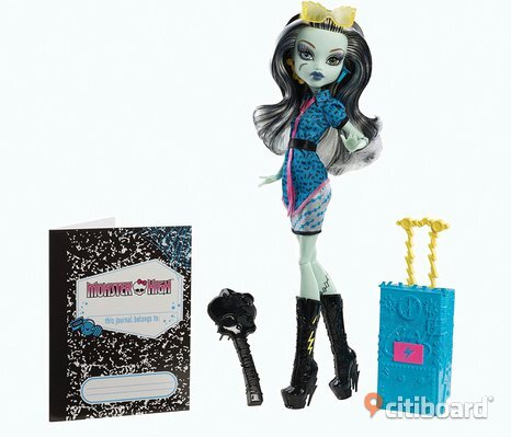 Frankie Stein monster high scaris city of frights docka