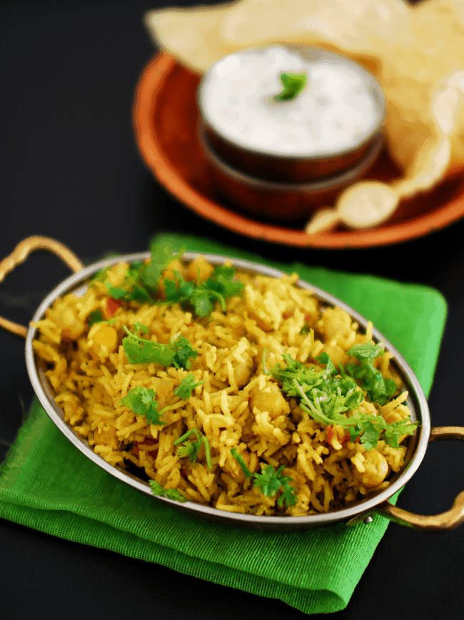 Chana Biriyani Recipe