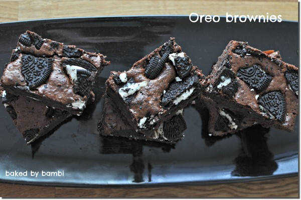 Ooooootroligt goda Oreo-brownies!