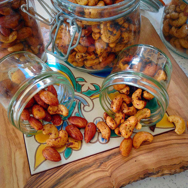 Spiced Nuts by FoodBod