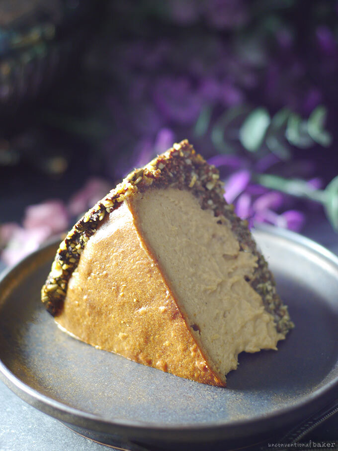 Nut-Free & Dairy-Free Baked Cheesecake
