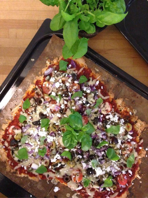Vegitarisk pizza