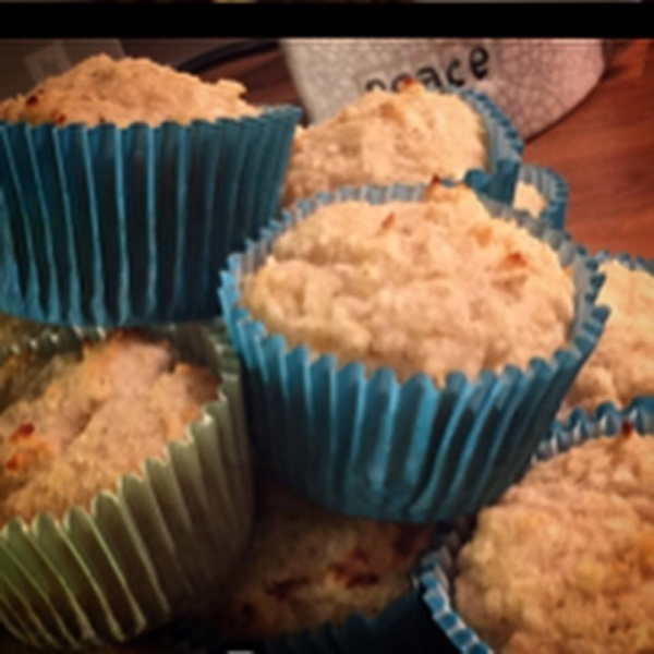 RECEPT - JUSSES Diet Muffins