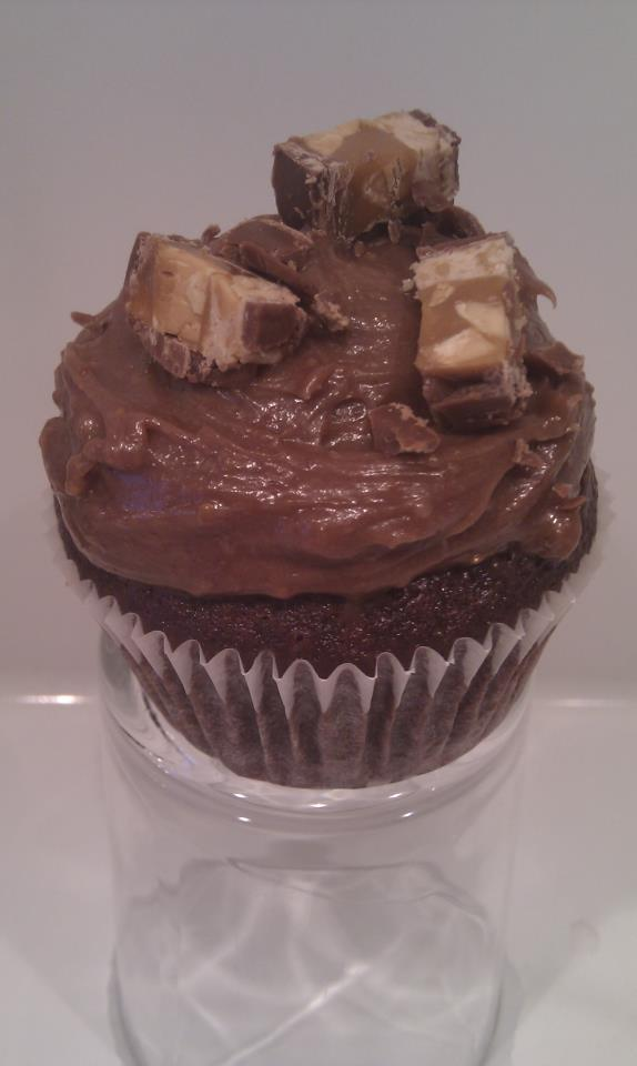 Snickers cupcakes <3