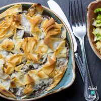 2 Syn Steak and Mushroom Pie | Slimming World