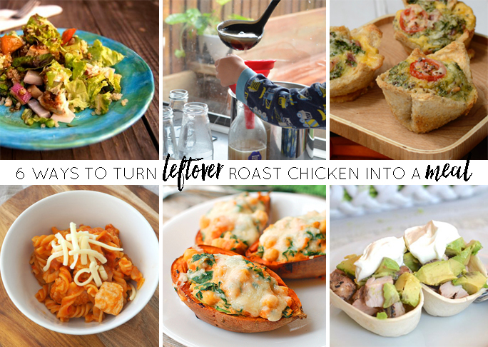 6 Ways to Turn Leftover Roast Chicken into a Meal