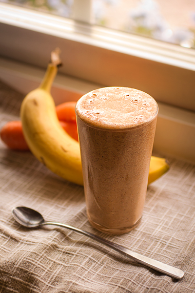 Morotskaka smoothie RECEPT