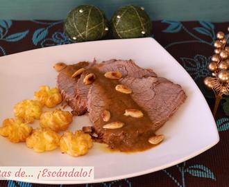 Recetas de como hacer lasa a de carne molida casera sin - Como rellenar un redondo de ternera ...