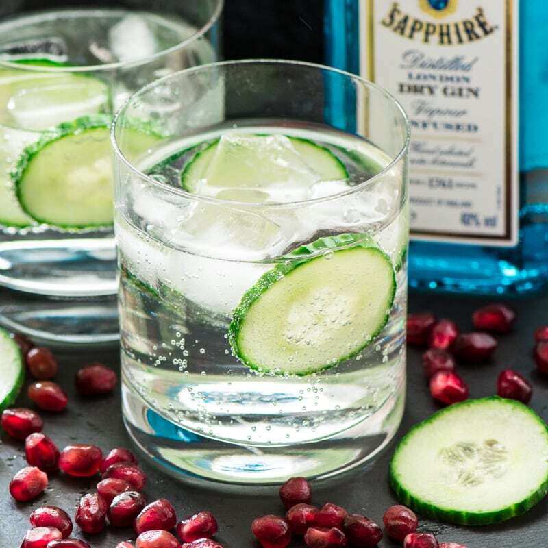 Gin and Tonic and 18 Amazing Foods to Cook with Gin