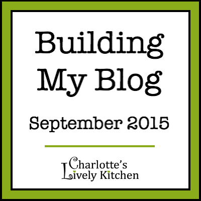 Building My Blog – September 2015