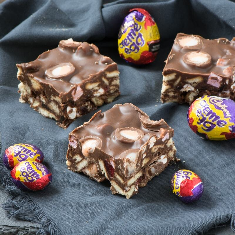 Creme Egg Rocky Road