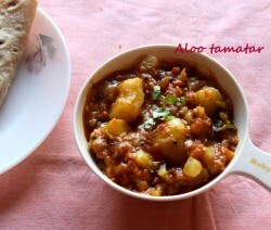 aloo curry without tomato