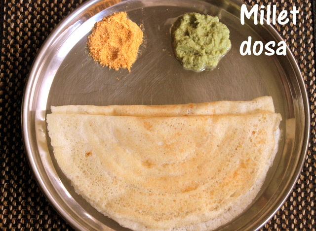 Kodo millet dosa recipe – Varagu/harka dosa recipe – healthy breakfast recipes