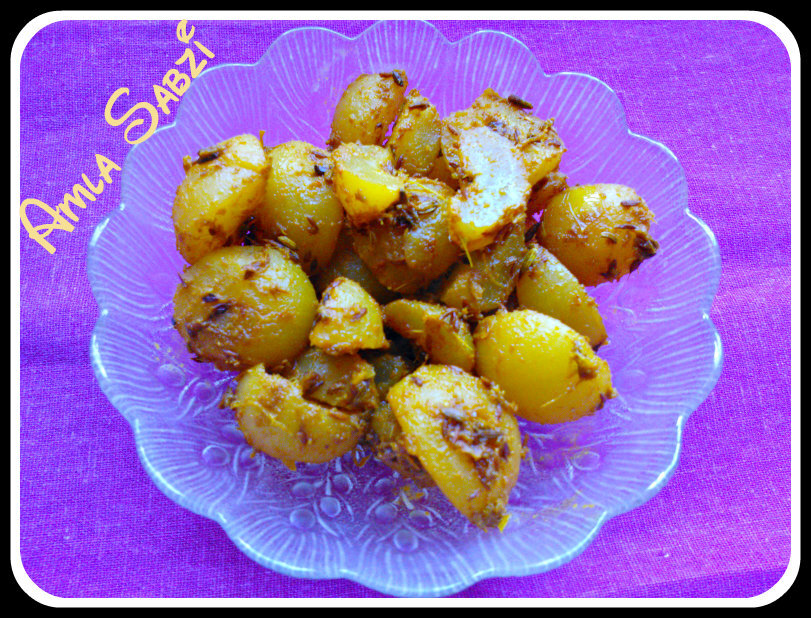Amla Ki Sabzi (Indian Gooseberry Curry)