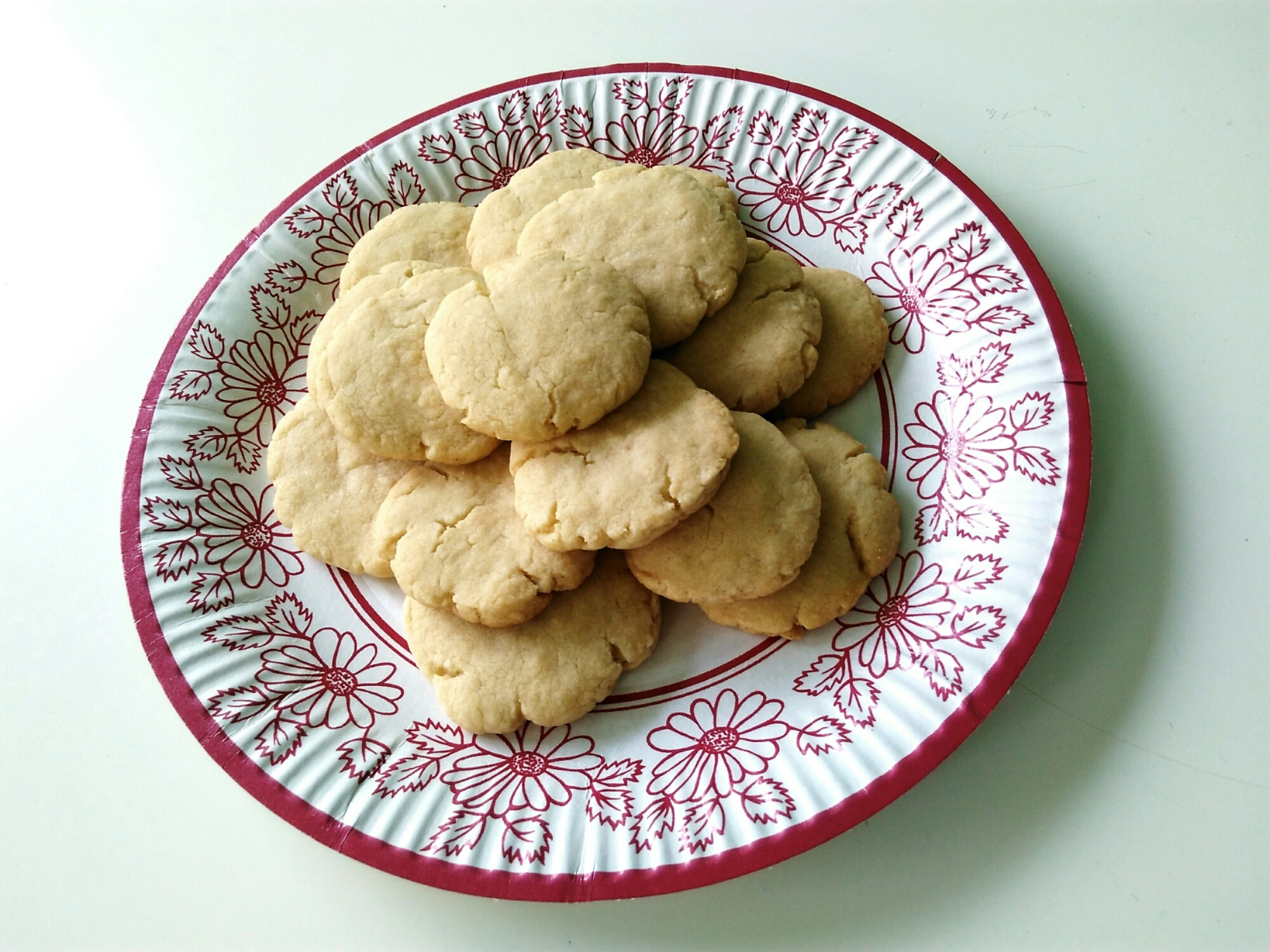 Food: Shortbread cookies