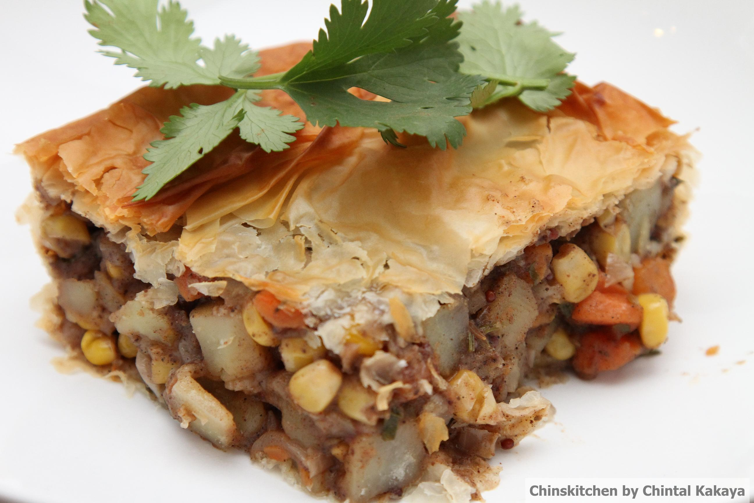 easy vegetable samosa filo pastry