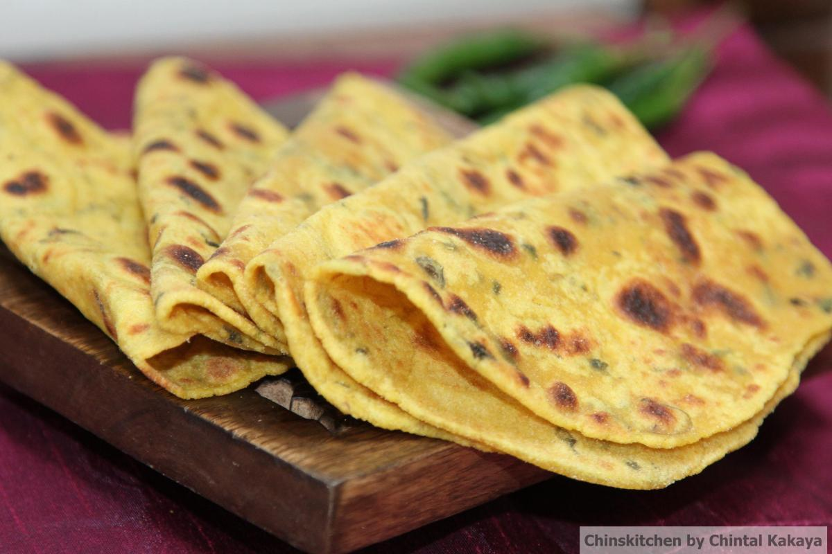 Free from Friday's: Gluten and Dairy Free Methi Theplas (spiced Indian Flatbreads)