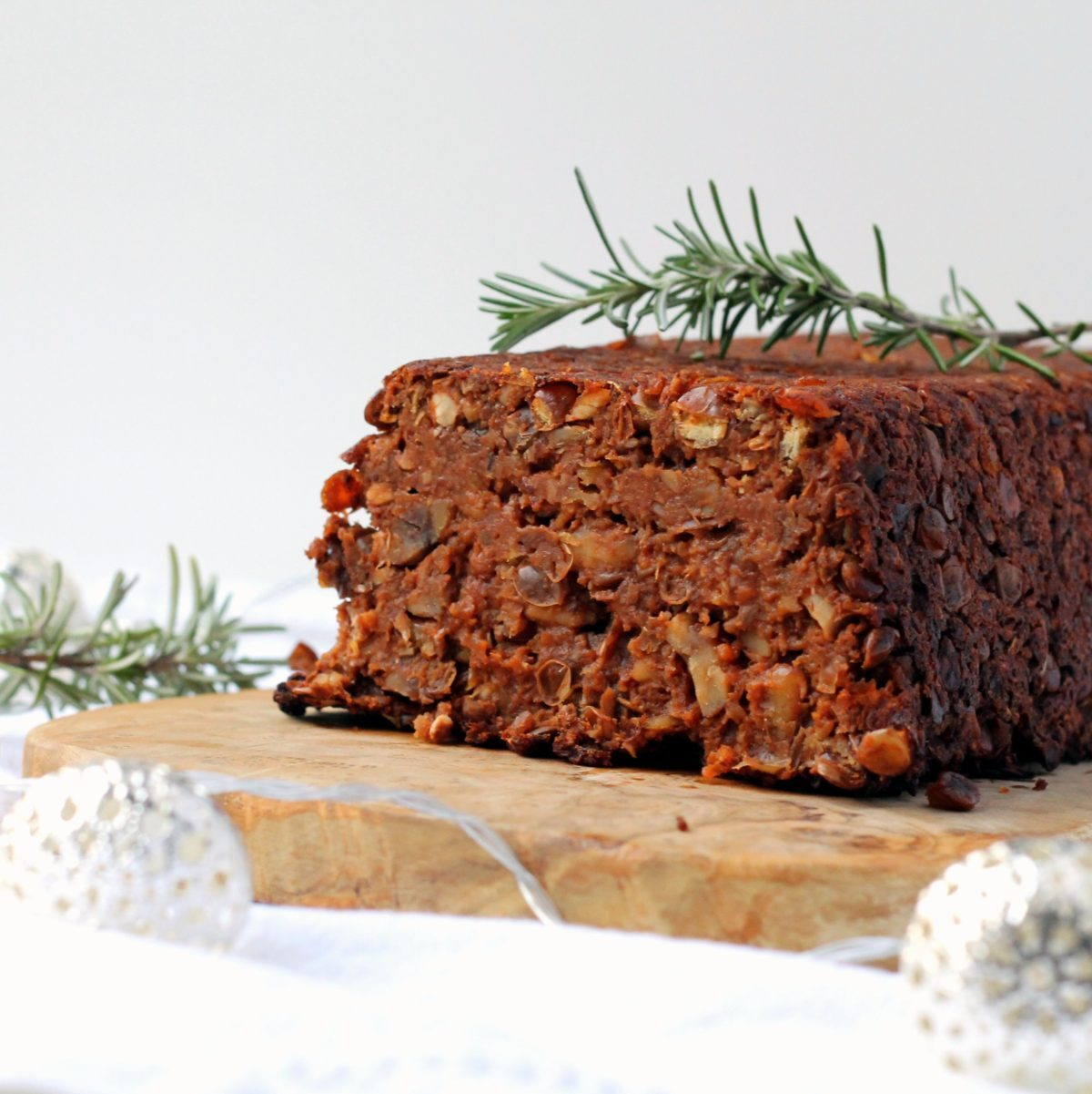 Chestnut Lentil Loaf & More! (My Christmas Recipes for V8 UK)