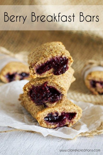 Berry breakfast bars