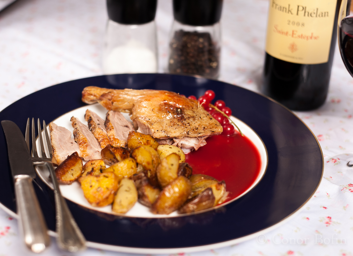 what to serve with roast duck breast