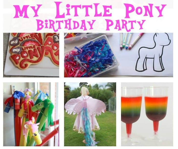 How to host the perfect My Little Pony Party