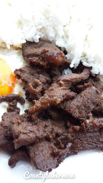 The perfect Breaky to start the day! ( Tapsilog)
