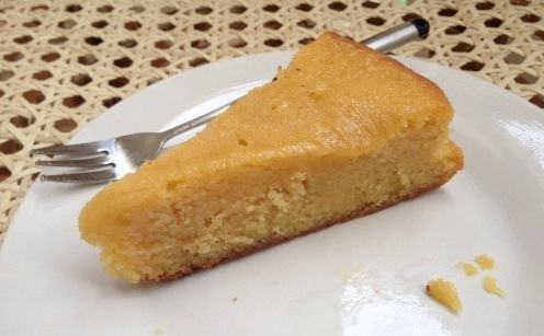 Lemon Polenta Cake and the Last Time that I will…