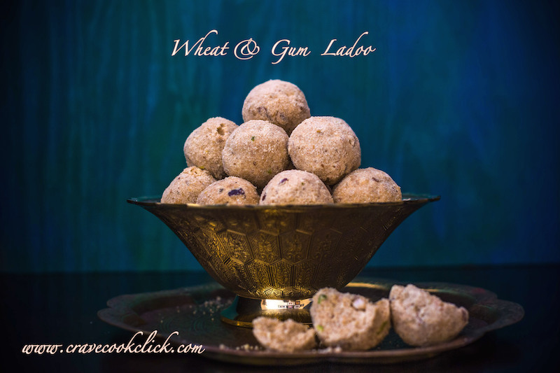 Wheat & Gum Ladoo Recipe