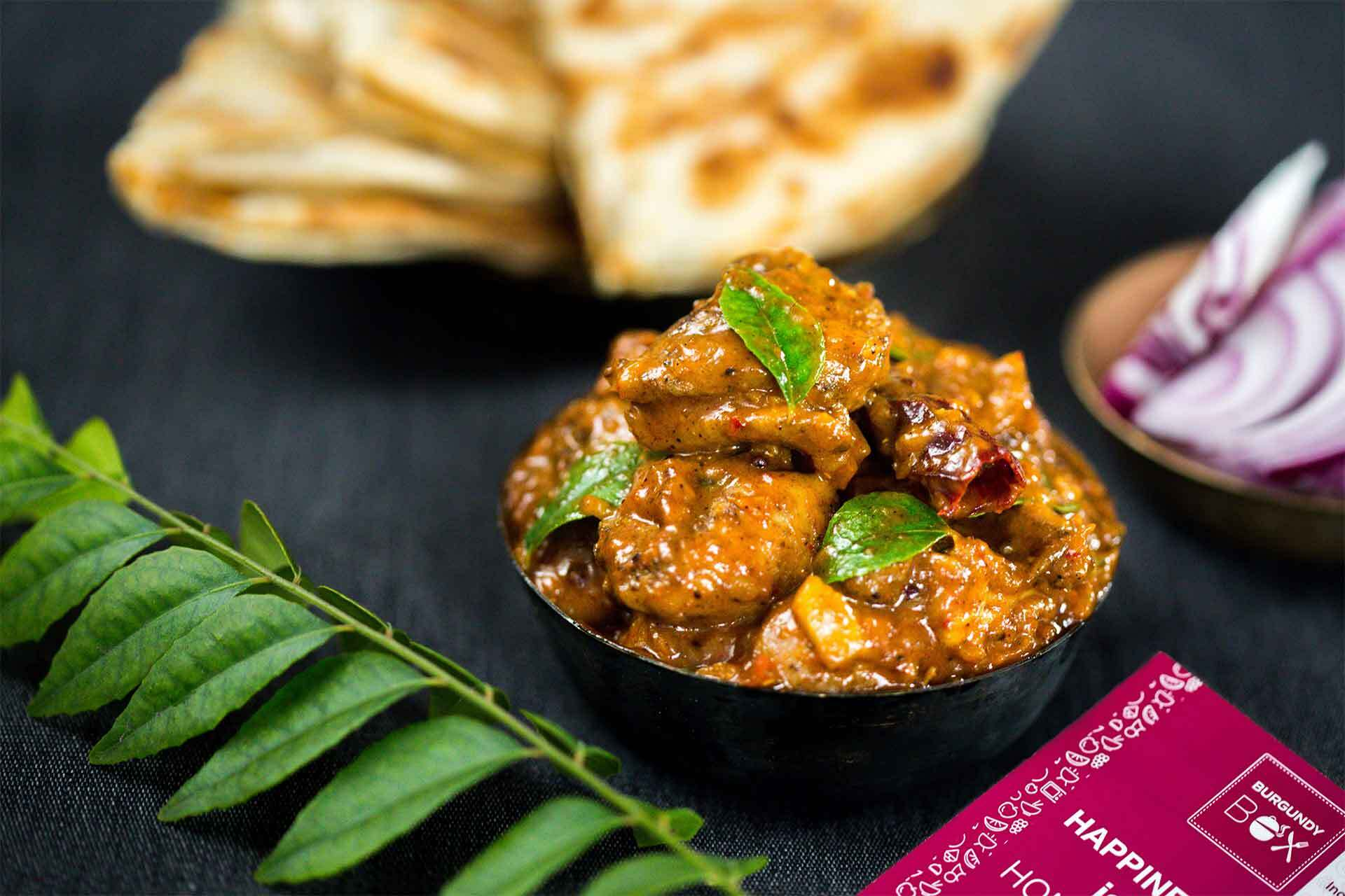 Burgundy Box's Chettinad Chicken Curry