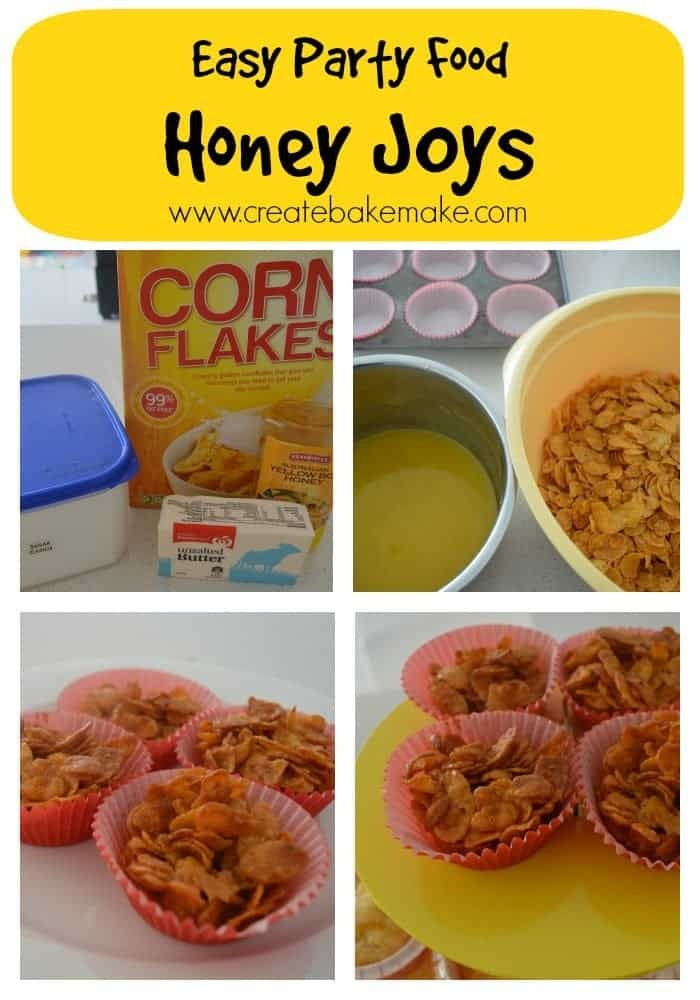 Easy Party Food – Honey Joys